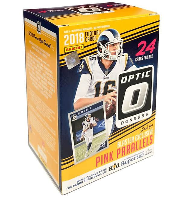 Panini 2018 Donruss Optic Football NFL Cards – Blasterbox