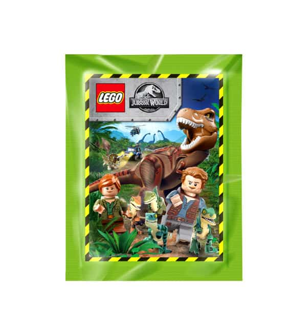 LEGO Jurassic World Sticker - 1 Tüte