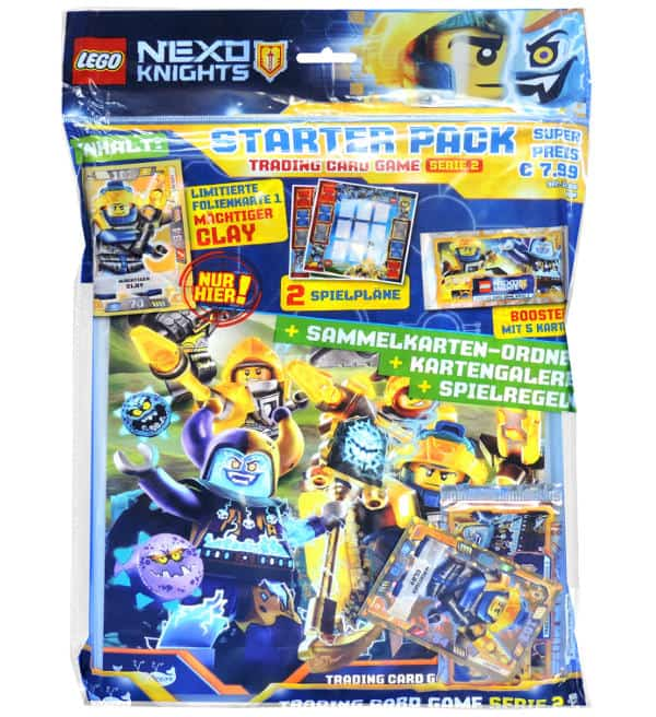 LEGO Nexo Knights Trading Cards Serie 2 - Starter Pack