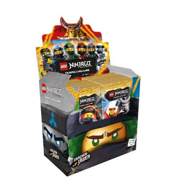 Lego Ninjago Serie 4 Trading Cards - Display