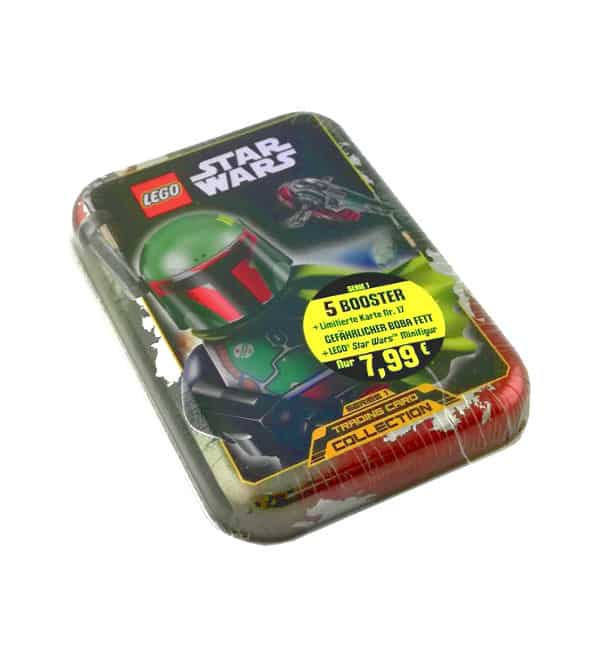 Lego Star Wars Serie 1 Trading Cards - Mini-Tin Boba Fett