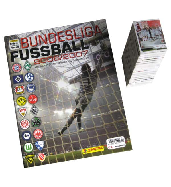 Panini Fussball 2006-2007 alle Sticker + Album