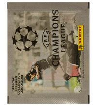 Panini Champions League 2000-2001 Tüte mit Stickern