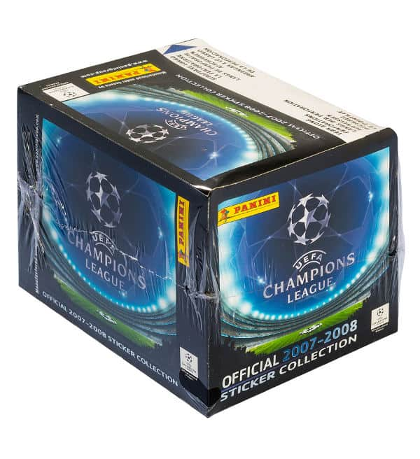 Panini Champions League 2007-2008 Display vorne