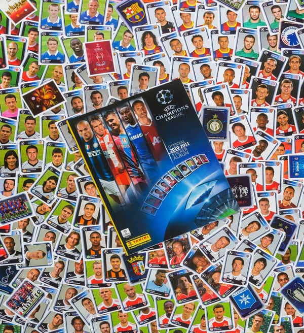 Panini Champions League 2010-2011 alle Sticker + Album Vorderseite