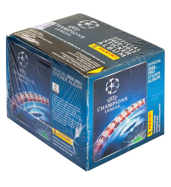 Panini Champions League 2010-2011 Display Blau - Box Front