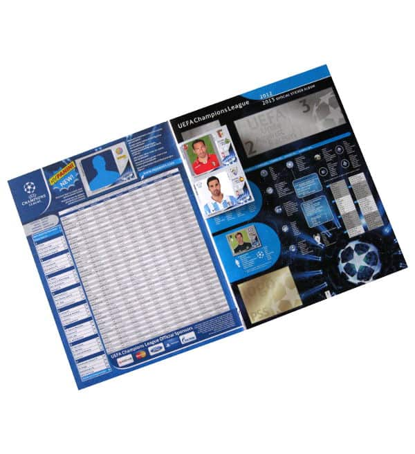 Panini Champions League 2012-2013 Sammelalbum Intro