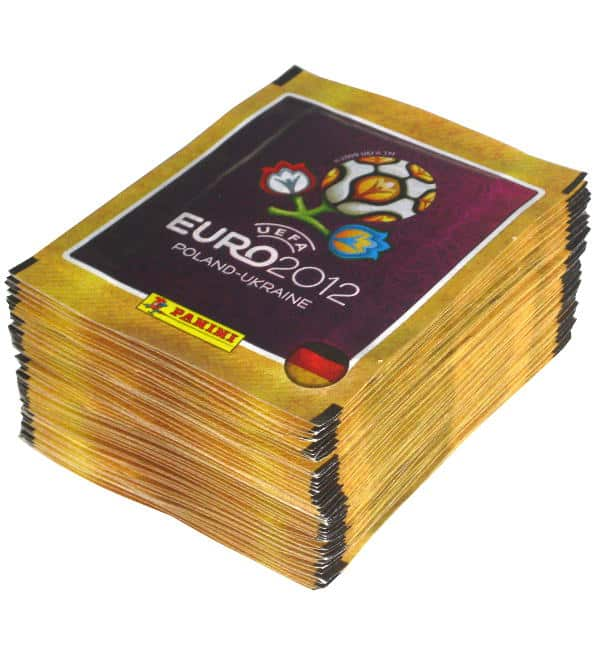 Panini EURO 2012 Sticker - 50 Tüten deutsche Version