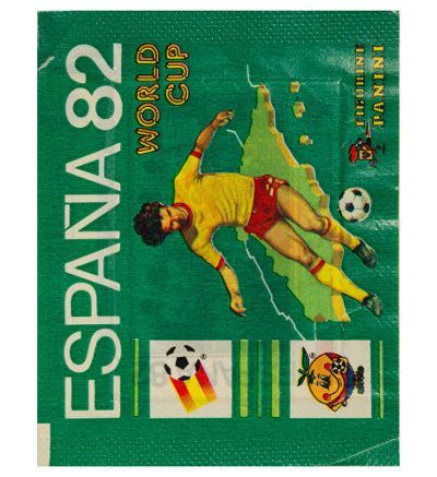 Panini Espana 82 Tüte Display Version WM 1982 vorne