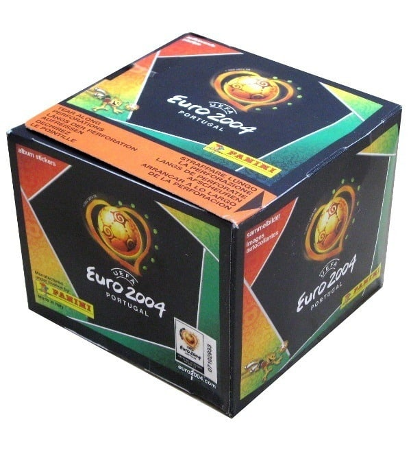 Panini Euro 2004 Display - Box mit 50 Tüten