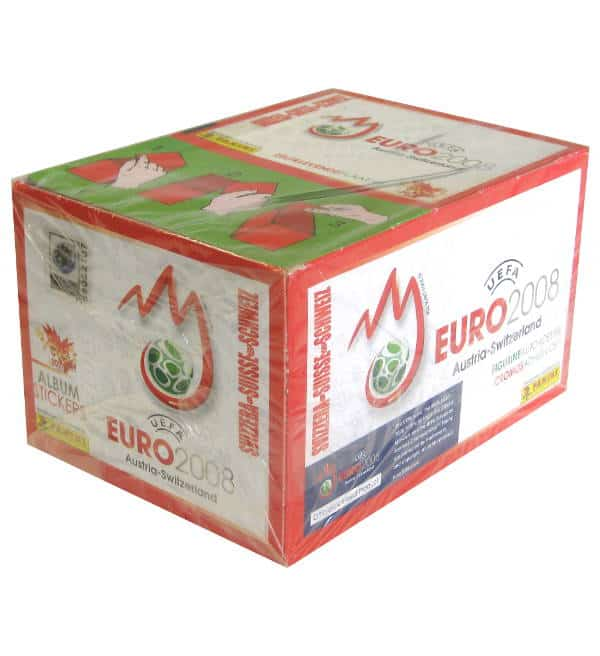 Panini EURO 2008 Display Schweiz
