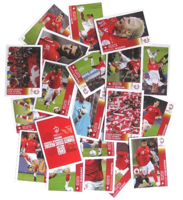 Panini Euro 2008 Suisse Edition Poster Sticker P1-P20