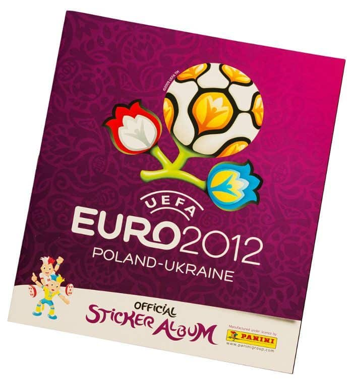 Panini EM Euro 2012 Album Version Frankreich Cover