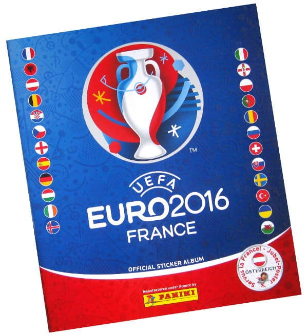 Panini EURO 2016 Sticker-Album Austria