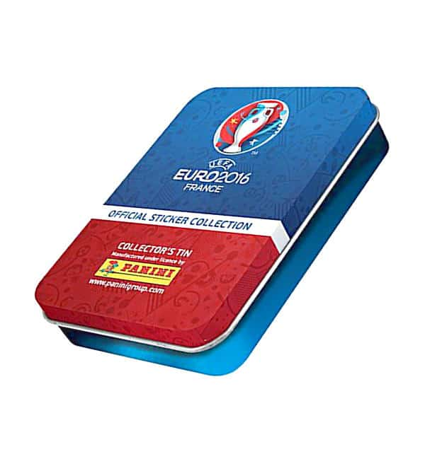 Panini EURO 2016 Sticker - Mini-Tin mit 15 Tüten