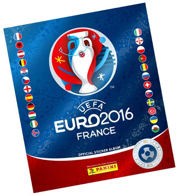 Panini EURO 2016 Album Star Edition Schweiz