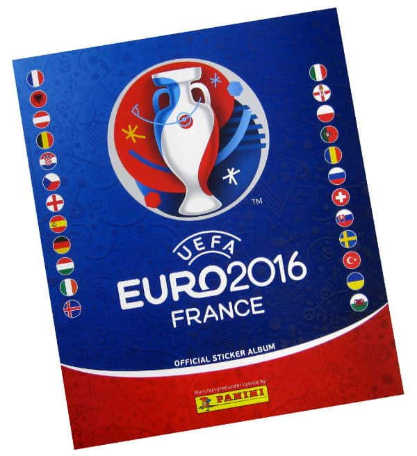 Panini EURO 2016 Sticker-Album