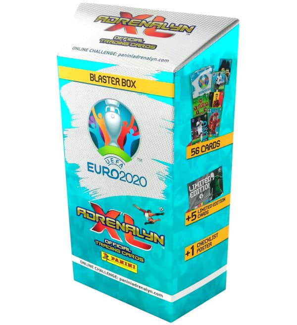 Panini EURO 2020 Adrenalyn XL Blaster Box
