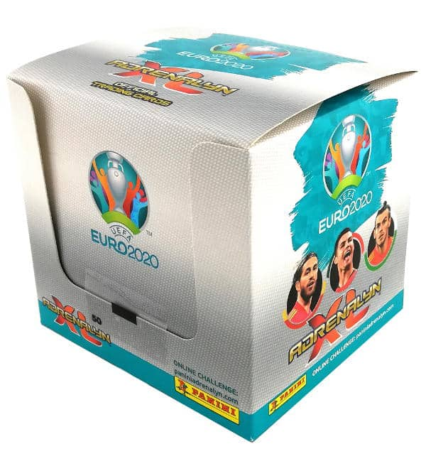 Panini EURO 2020 Adrenalyn XL Box mit 50 Tueten