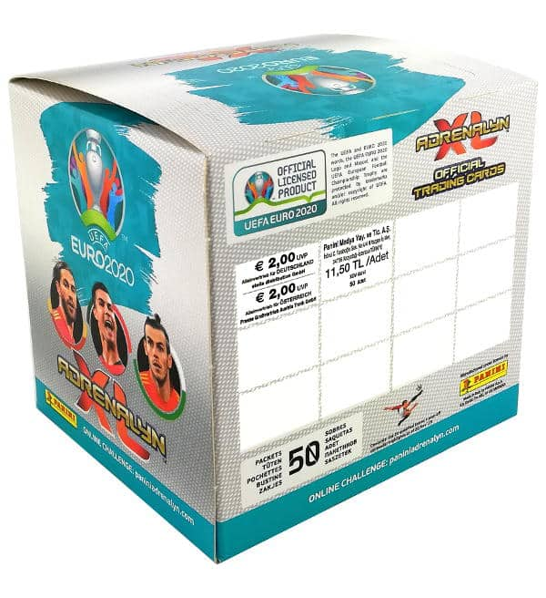 Panini EURO 2020 Adrenalyn XL Display Preis