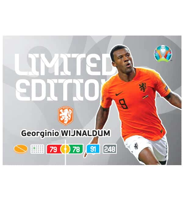 Limited Edition Card Georginio Wijnaldum