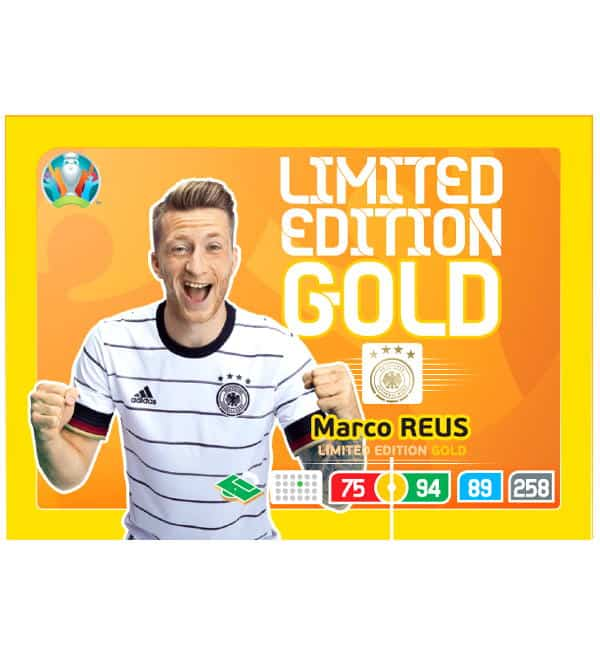Limited Edition Card Gold - Marco Reus