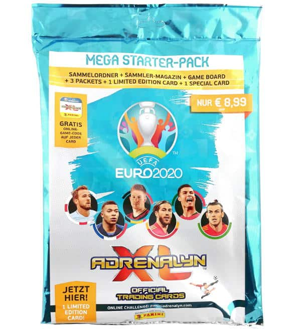 Panini EURO 2020 Adrenalyn XL Starter Pack
