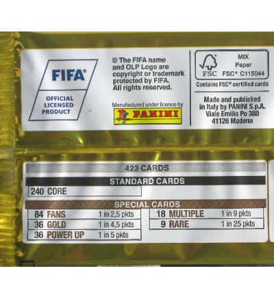 Panini FIFA 365 2017 Adrenalyn XL Booster Legende