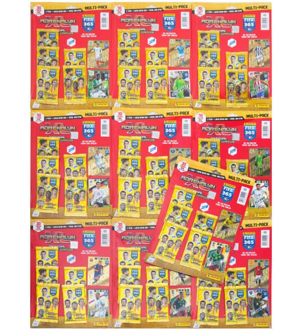 Panini FIFA 365 2018 Adrenalyn XL - Alle 10 Multi Pack