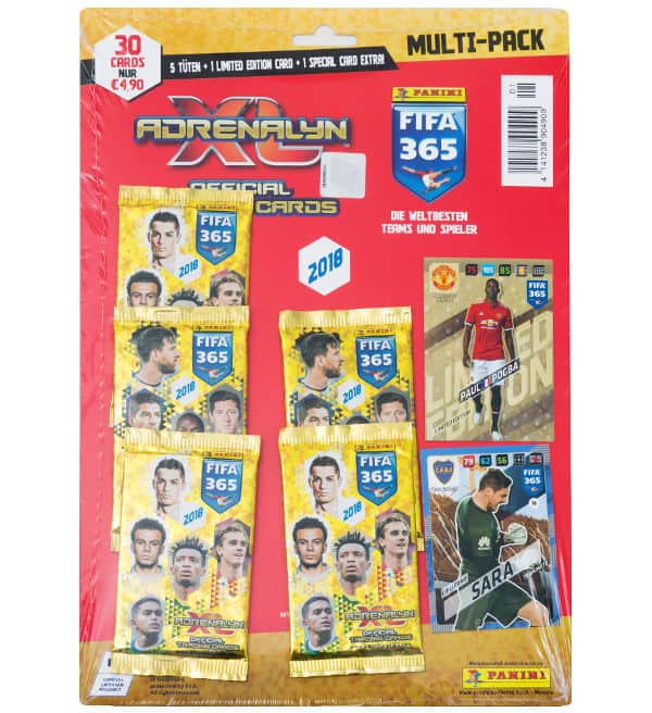Panini FIFA 365 Adrenalyn XL 2018 Multi Pack