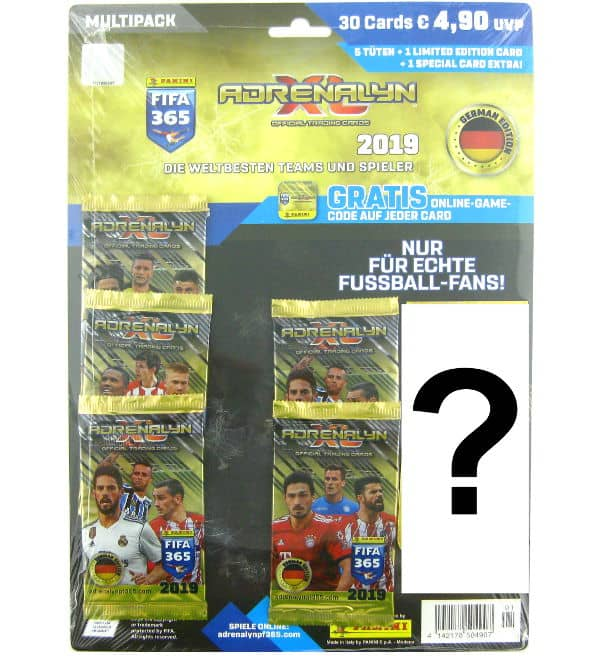 Panini FIFA 365 2019 Adrenalyn XL Multi Pack