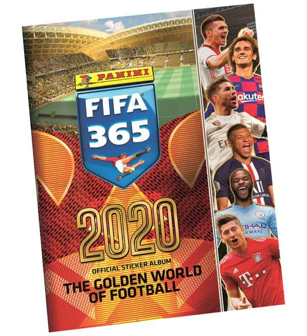 Panini FIFA 365 2020 Sticker Album