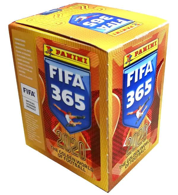 Panini FIFA 365 2020 Sticker Display 50 Tüten