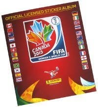 Panini Frauen WM Canada 2015 Sticker Album