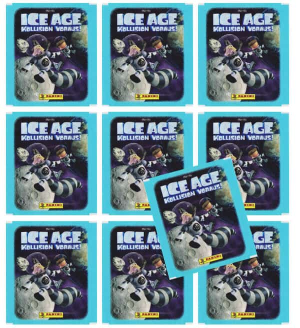Panini Ice Age 5 Sticker - 10 Tüten