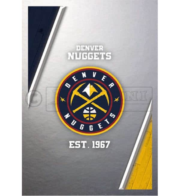 Panini NBA 2018 2019 Sticker - Logo Denver Nuggets
