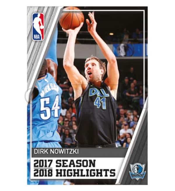 Panini NBA 2018 2019 Sticker - Dirk Nowitzki