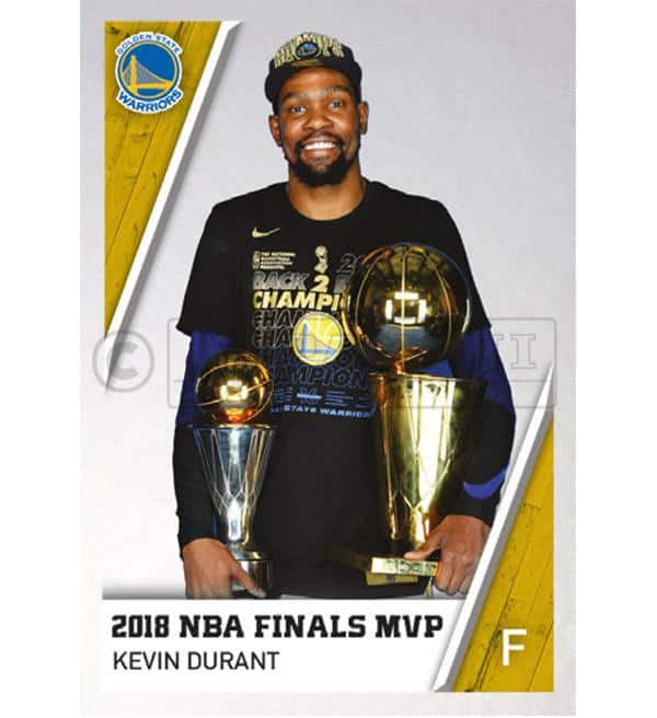 Panini NBA 2018 2019 Sticker - Kevin Durant