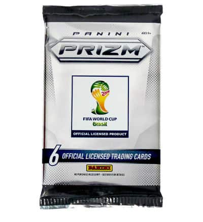 Panini Prizm Cards WM Brasil 2014 Booster Pack einzeln