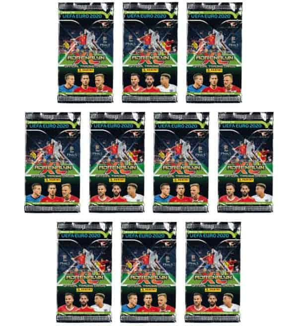 Panini Road to Euro 2020 Adrenalyn XL - 10 Tüten