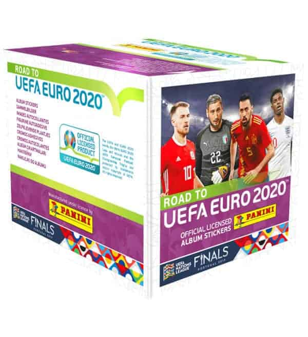 Panini Road to Euro 2020 Sticker Display