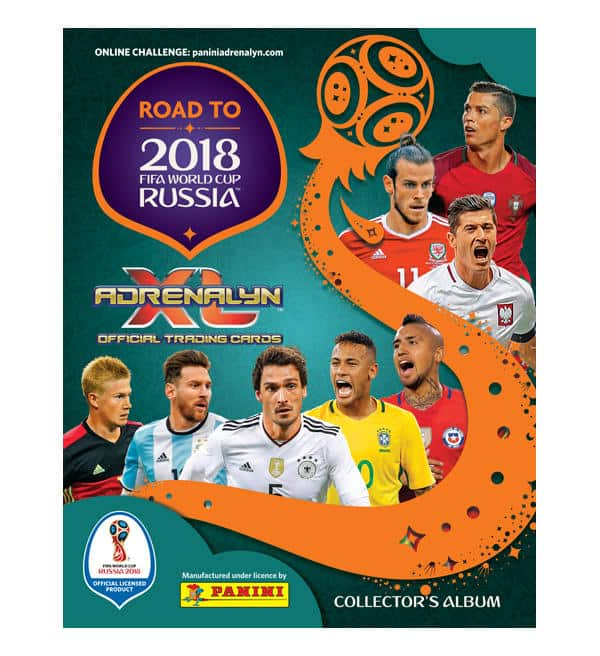Panini Road to World Cup 2018 Adrenalyn XL TCG