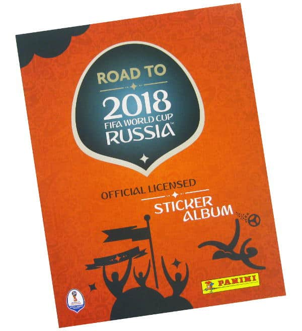 Panini Road to World Cup 2018 Sticker Sammelalbum