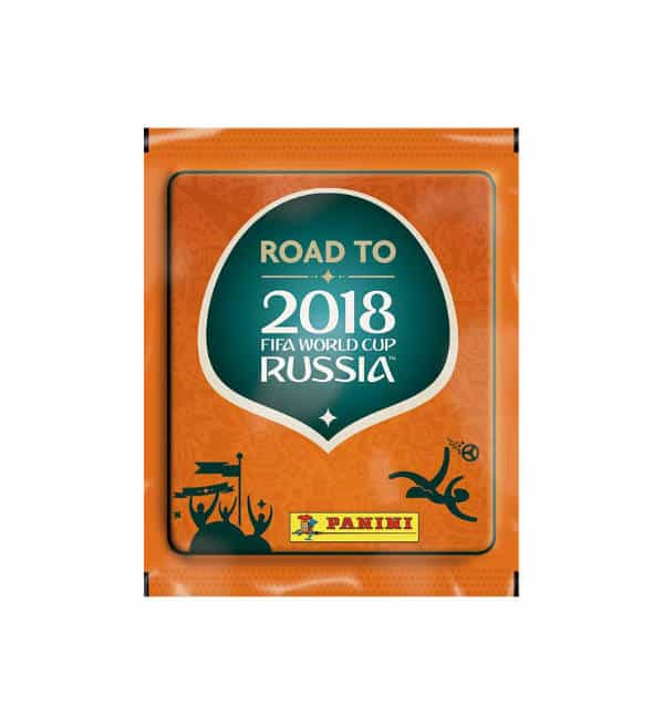 Panini Road to World Cup 2018 Sticker-Tüte