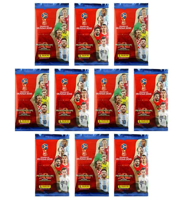 Panini Road to Russia 2018 Adrenalyn XL - 10 Booster