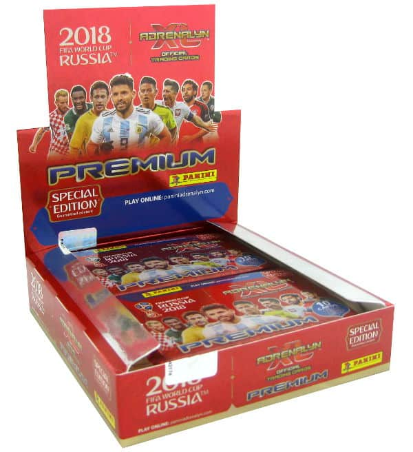 Panini WM 2018 Adrenalyn XL Premium Box