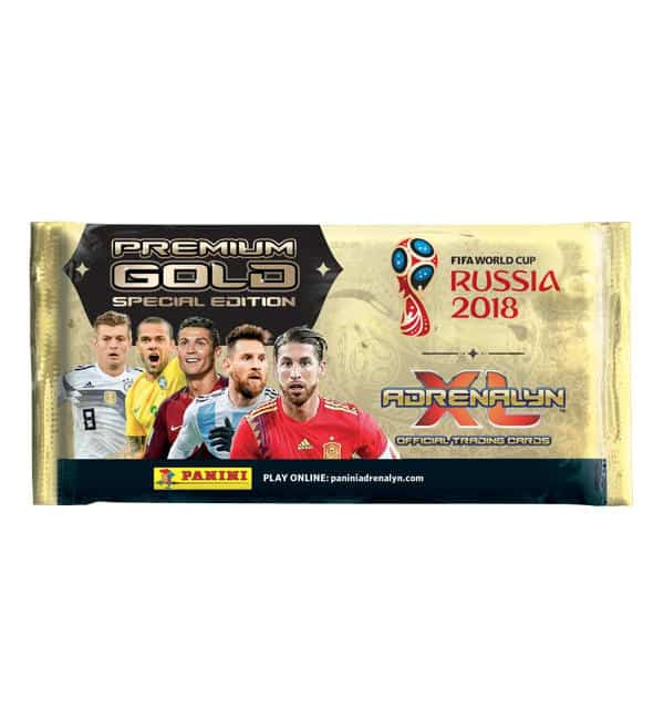 Panini WM 2018 Adrenalyn XL Premium Gold Tüte