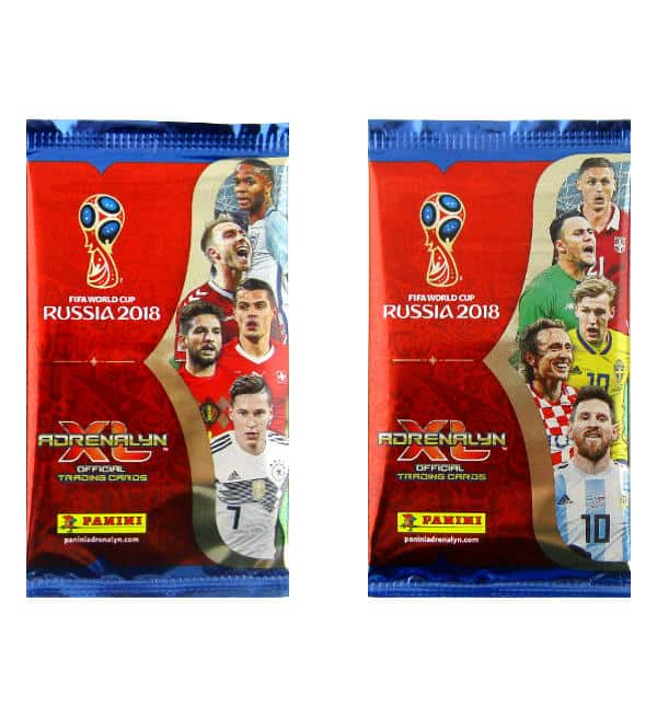 Panini WM 2018 Adrenalyn XL Tüten