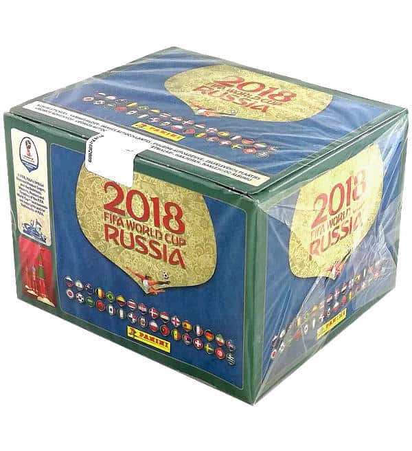 Panini WM 2018 - Display mit 104 Tüten - Version 670