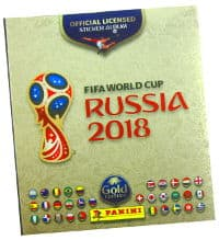 Panini WM 2018 Gold Edition Album